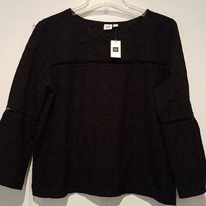 NWT Navy GAP blouse